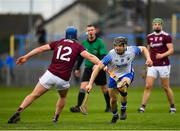 23 February 2020; Jamie Barron of Waterford in action against Tadgh Haran of Galway during the Allianz Hurling League Division 1 Group A Round 4 match between Waterford and Galway at Walsh Park in Waterford. Photo by Seb Daly/Sportsfile