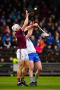 23 February 2020; Gearoid McInerney of Galway in action against Stephen Bennett of Waterford during the Allianz Hurling League Division 1 Group A Round 4 match between Waterford and Galway at Walsh Park in Waterford. Photo by Seb Daly/Sportsfile
