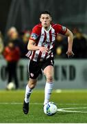 21 February 2020; Eoin Toal of Derry City during the SSE Airtricity League Premier Division match between Derry City and Finn Harps at Ryan McBride Brandywell Stadium in Derry. Photo by Oliver McVeigh/Sportsfile