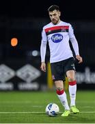 24 February 2020; Jordan Flores of Dundalk during the SSE Airtricity League Premier Division match between Dundalk and Cork City at Oriel Park in Dundalk, Louth. Photo by Ben McShane/Sportsfile