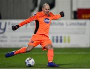 24 February 2020; Gary Rogers of Dundalk during the SSE Airtricity League Premier Division match between Dundalk and Cork City at Oriel Park in Dundalk, Louth. Photo by Ben McShane/Sportsfile
