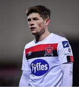 24 February 2020; Cammy Smith of Dundalk during the SSE Airtricity League Premier Division match between Dundalk and Cork City at Oriel Park in Dundalk, Louth. Photo by Ben McShane/Sportsfile