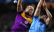 22 February 2020; Liam Ryan of Wexford in action against Donal Burke of Dublin during the Allianz Hurling League Division 1 Group B Round 4 match between Dublin and Wexford at Croke Park in Dublin. Photo by Eóin Noonan/Sportsfile