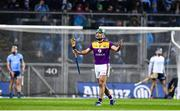 22 February 2020; Shaun Murphy of Wexford after being sent off by referee Johnny Murphy during the Allianz Hurling League Division 1 Group B Round 4 match between Dublin and Wexford at Croke Park in Dublin. Photo by Eóin Noonan/Sportsfile