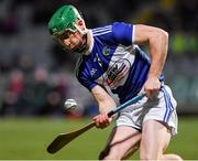 22 February 2020; Ross King of Laois during the Allianz Hurling League Division 1 Group B Round 4 match between Laois and Carlow at MW Hire O'Moore Park in Portlaoise, Laois. Photo by Matt Browne/Sportsfile