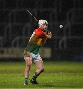22 February 2020; Martin Kavanagh of Carlow during the Allianz Hurling League Division 1 Group B Round 4 match between Laois and Carlow at MW Hire O'Moore Park in Portlaoise, Laois. Photo by Matt Browne/Sportsfile