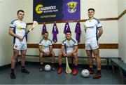 26 February 2020; Wexford players, from left, Rory O'Connor, Brian Malone, Lee Chin and Eoin Porter at the official announcement of Chadwicks' naming rights partnership with Wexford GAA that sees the home of Wexford GAA renamed to Chadwicks Wexford Park. Chadwicks is Ireland's leading supplier of building materials, bathrooms, heating and home & garden products. Photo by Matt Browne/Sportsfile