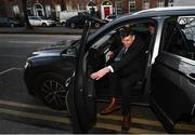 26 February 2020; IRFU Chief Executive Philip Browne following a meeting at the Department of Health, Dublin. Photo by Stephen McCarthy/Sportsfile