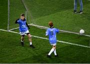 22 February 2020; Action from the cumman Na mbunscoil games at half time of the Allianz Football League Division 1 Round 4 match between Dublin and Donegal at Croke Park in Dublin. Photo by Harry Murphy/Sportsfile