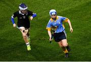 22 February 2020; Action from the cumman Na mbunscoil games at half time of the Allianz Hurling League Division 1 Group B Round 4 match between Dublin and Wexford at Croke Park in Dublin. Photo by Harry Murphy/Sportsfile