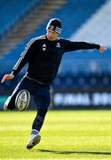 27 February 2020; Ciarán Frawley during a Leinster Rugby captain's run at the RDS Arena in Dublin. Photo by Seb Daly/Sportsfile