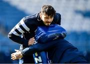 27 February 2020; Max Deegan during a Leinster Rugby captain's run at the RDS Arena in Dublin. Photo by Seb Daly/Sportsfile