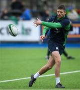 28 February 2020; Ross Byrne during an Ireland Rugby open training session at Energia Park in Donnybrook, Dublin. Photo by Ramsey Cardy/Sportsfile