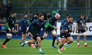 28 February 2020; Rob Herring, left, and Andrew Porter during an Ireland Rugby open training session at Energia Park in Donnybrook, Dublin. Photo by Ramsey Cardy/Sportsfile