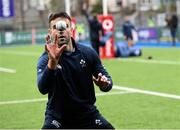 28 February 2020; Conor Murray during an Ireland Rugby open training session at Energia Park in Donnybrook, Dublin. Photo by Ramsey Cardy/Sportsfile