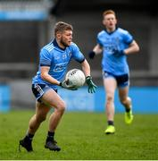 22 February 2020; Stephen Braiden O'Byrne of Dublin during the Eirgrid Leinster GAA Football U20 Championship Semi-Final match between Dublin and Meath at Parnell Park in Dublin. Photo by David Fitzgerald/Sportsfile