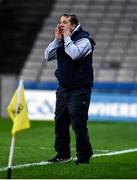 22 February 2020; Wexford manager Davy Fitzgerald during the Allianz Hurling League Division 1 Group B Round 4 match between Dublin and Wexford at Croke Park in Dublin. Photo by Sam Barnes/Sportsfile