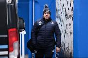 28 February 2020; Sean Cronin of Leinster arrives ahead of the Guinness PRO14 Round 13 match between Leinster and Glasgow Warriors at the RDS Arena in Dublin. Photo by Diarmuid Greene/Sportsfile