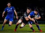 28 February 2020; Luke McGrath of Leinster is tackled by Matt Fagerson of Glasgow Warriors during the Guinness PRO14 Round 13 match between Leinster and Glasgow Warriors at the RDS Arena in Dublin. Photo by Ramsey Cardy/Sportsfile
