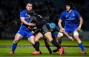 28 February 2020; George Turner of Glasgow Warriors is tackled by Peter Dooley and Will Connors of Leinster during the Guinness PRO14 Round 13 match between Leinster and Glasgow Warriors at the RDS Arena in Dublin. Photo by Diarmuid Greene/Sportsfile