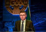 28 February 2020; Ard Stiúrthóir of the GAA Tom Ryan speaking during the GAA Annual Congress 2020 at Croke Park in Dublin. Photo by Philip Fitzpatrick/Sportsfile