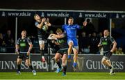 28 February 2020; Kyle Steyn of Glasgow Warriors in action against James Lowe of Leinster during the Guinness PRO14 Round 13 match between Leinster and Glasgow Warriors at the RDS Arena in Dublin. Photo by Diarmuid Greene/Sportsfile