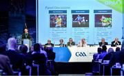 29 February 2020; GPA Chairman Séamus Hickey speaking during the GAA Annual Congress 2020 at Croke Park in Dublin. Photo by Piaras Ó Mídheach/Sportsfile