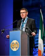 29 February 2020; Ard Stiúrthóir of the GAA Tom Ryan speaking during the GAA Annual Congress 2020 at Croke Park in Dublin. Photo by Piaras Ó Mídheach/Sportsfile
