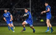 28 February 2020; James Lowe of Leinster during the Guinness PRO14 Round 13 match between Leinster and Glasgow Warriors at the RDS Arena in Dublin. Photo by Ramsey Cardy/Sportsfile