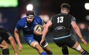 28 February 2020; Max Deegan of Leinster during the Guinness PRO14 Round 13 match between Leinster and Glasgow Warriors at the RDS Arena in Dublin. Photo by Ramsey Cardy/Sportsfile