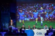 29 February 2020; Uachtarán Chumann Lúthchleas Gael John Horan speaking about LGFA in his address during the GAA Annual Congress 2020 at Croke Park in Dublin. Photo by Piaras Ó Mídheach/Sportsfile