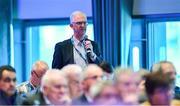 29 February 2020; Incoming Leinster GAA Chairman Pat Teehan speaking during the GAA Annual Congress 2020 at Croke Park in Dublin. Photo by Piaras Ó Mídheach/Sportsfile