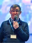 29 February 2020; Connacht Council Secretary John Prenty speaking during the GAA Annual Congress 2020 at Croke Park in Dublin. Photo by Piaras Ó Mídheach/Sportsfile