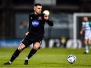 28 February 2020; Jordan Flores of Dundalk during the SSE Airtricity League Premier Division match between Shamrock Rovers and Dundalk at Tallaght Stadium in Dublin. Photo by Ben McShane/Sportsfile