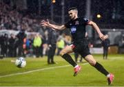 28 February 2020; Michael Duffy of Dundalk during the SSE Airtricity League Premier Division match between Shamrock Rovers and Dundalk at Tallaght Stadium in Dublin. Photo by Ben McShane/Sportsfile