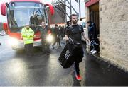 29 February 2020; Jack McCaffrey of Dublin arrives prior to the Allianz Football League Division 1 Round 5 match between Tyrone and Dublin at Healy Park in Omagh, Tyrone. Photo by Oliver McVeigh/Sportsfile