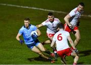 29 February 2020; Paul Mannion of Dublin in action against Darren McCurry of Tyrone during the Allianz Football League Division 1 Round 5 match between Tyrone and Dublin at Healy Park in Omagh, Tyrone. Photo by Oliver McVeigh/Sportsfile
