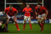 29 February 2020; Craig Casey of Munster during the Guinness PRO14 Round 13 match between Munster and Scarlets at Thomond Park in Limerick. Photo by Diarmuid Greene/Sportsfile