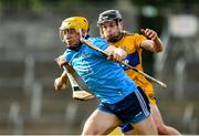 1 March 2020; Dáire Gray of Dublin is tackled by Tony Kelly of Clare during the Allianz Hurling League Division 1 Group B Round 5 match between Clare and Dublin at Cusack Park in Ennis, Clare. Photo by Ray McManus/Sportsfile