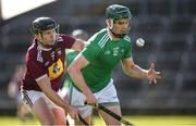 1 March 2020; Brian Ryan of Limerick in action against Liam Varley of Westmeath during the Allianz Hurling League Division 1 Group A Round 5 match between Limerick and Westmeath at LIT Gaelic Grounds in Limerick. Photo by Diarmuid Greene/Sportsfile