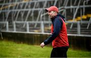 1 March 2020; Westmeath manager Shane O'Brien prior to the Allianz Hurling League Division 1 Group A Round 5 match between Limerick and Westmeath at LIT Gaelic Grounds in Limerick. Photo by Diarmuid Greene/Sportsfile