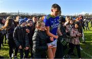 1 March 2020; Kerry captain David Clifford is followed by young supporters after the Allianz Football League Division 1 Round 5 match between Mayo and Kerry at Elverys MacHale Park in Castlebar, Mayo. Photo by Brendan Moran/Sportsfile