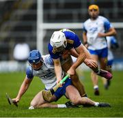 1 March 2020; Conor Prunty of Waterford and Niall O'Meara of Tipperary during the Allianz Hurling League Division 1 Group A Round 5 match between Tipperary and Waterford at Semple Stadium in Thurles, Tipperary. Photo by Ramsey Cardy/Sportsfile