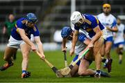 1 March 2020; Conor Prunty of Waterford in action against Jason Forde, left, and Niall O'Meara of Tipperary during the Allianz Hurling League Division 1 Group A Round 5 match between Tipperary and Waterford at Semple Stadium in Thurles, Tipperary. Photo by Ramsey Cardy/Sportsfile
