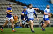 1 March 2020; Jamie Barron of Waterford in action against John McGrath of Tipperary during the Allianz Hurling League Division 1 Group A Round 5 match between Tipperary and Waterford at Semple Stadium in Thurles, Tipperary. Photo by Ramsey Cardy/Sportsfile