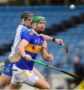 1 March 2020; Noel McGrath of Tipperary and Calum Lyons of Waterford during the Allianz Hurling League Division 1 Group A Round 5 match between Tipperary and Waterford at Semple Stadium in Thurles, Tipperary. Photo by Ramsey Cardy/Sportsfile