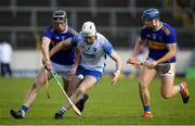 1 March 2020; Shane McNulty of Waterford in action against Dillon Quirke, left, and Jason Forde of Tipperary during the Allianz Hurling League Division 1 Group A Round 5 match between Tipperary and Waterford at Semple Stadium in Thurles, Tipperary. Photo by Ramsey Cardy/Sportsfile