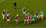 1 March 2020; Liam Varley of Westmeath in action against Darragh O'Donovan and Brian Ryan of Limerick during the Allianz Hurling League Division 1 Group A Round 5 match between Limerick and Westmeath at LIT Gaelic Grounds in Limerick. Photo by Diarmuid Greene/Sportsfile