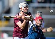1 March 2020; Jason Flynn of Galway scores a goal despite the effort from Cork goalkeeper Anthony Nash during the Allianz Hurling League Division 1 Group A Round 5 match between Galway and Cork at Pearse Stadium in Salthill, Galway. Photo by Ray Ryan/Sportsfile