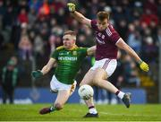 1 March 2020; Paul Conroy of Galway in action against Conor McGill of Meath during the Allianz Football League Division 1 Round 5 match between Meath and Galway at Páirc Tailteann in Navan, Meath. Photo by Daire Brennan/Sportsfile